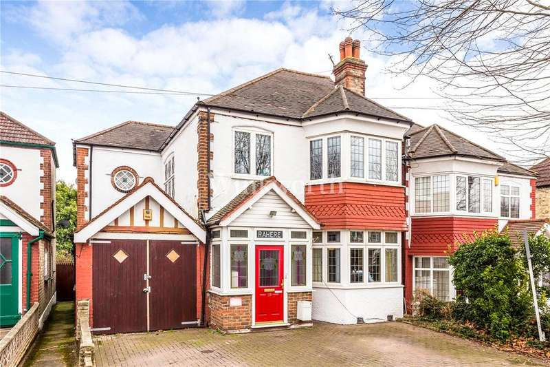 4 Bedrooms Semi Detached House for sale in Broomfield Avenue, London, N13