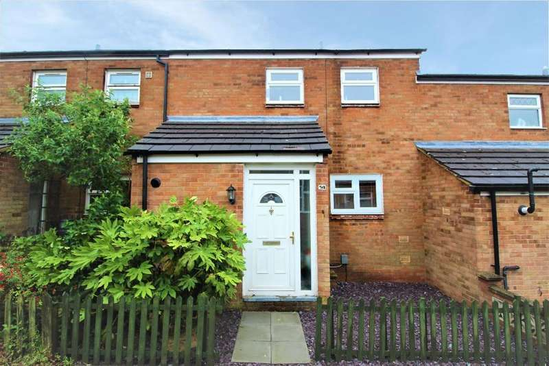2 Bedrooms Terraced House for sale in Leighfield Close, Bedford