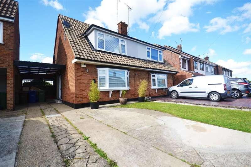 3 Bedrooms Semi Detached House for sale in Wheatley Road, Corringham