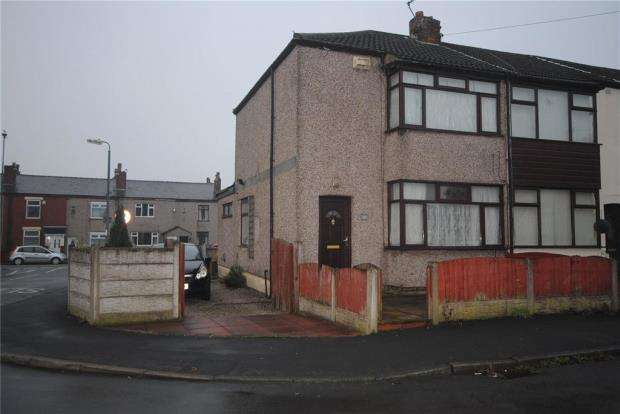 3 Bedrooms End Of Terrace House for sale in East Street, Ashton-in-Makerfield, Wigan