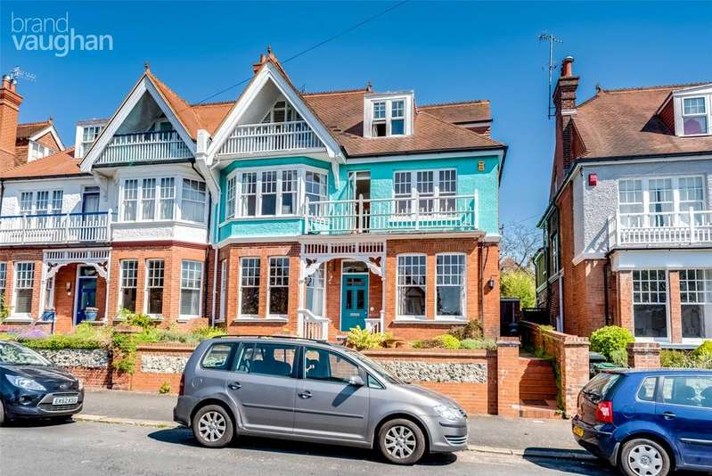 6 Bedrooms Semi Detached House for sale in Cornwall Gardens, Brighton, East Sussex, BN1
