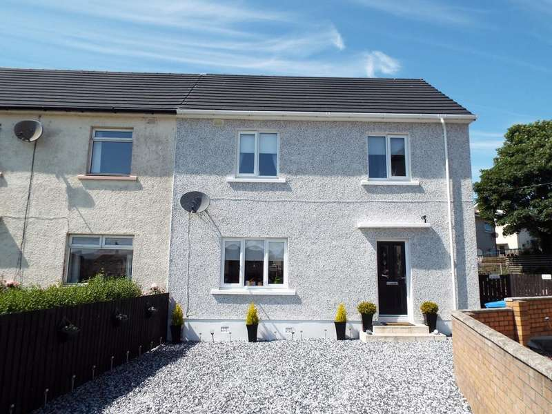 3 Bedrooms Semi Detached House for sale in Sannox Drive , Saltcoats KA21