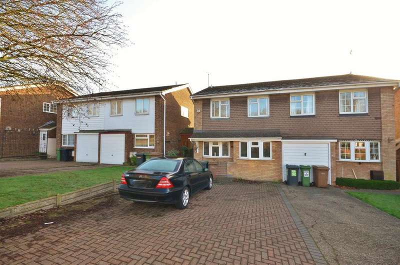 3 Bedrooms Semi Detached House for sale in Bramingham Road, Close to Leagrave Station