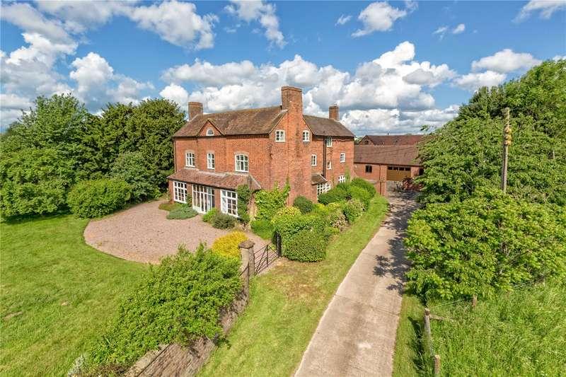6 Bedrooms Detached House for sale in Brockton Hall Farm, Brockton, Shifnal, Shropshire, TF11