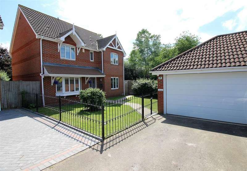 4 Bedrooms Detached House for sale in Poplar Close, Brandon Groves, South Ockendon