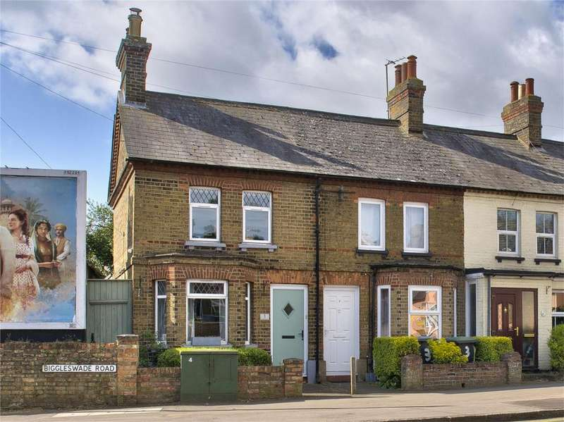 2 Bedrooms End Of Terrace House for sale in Biggleswade Road, Potton, Sandy, Bedfordshire