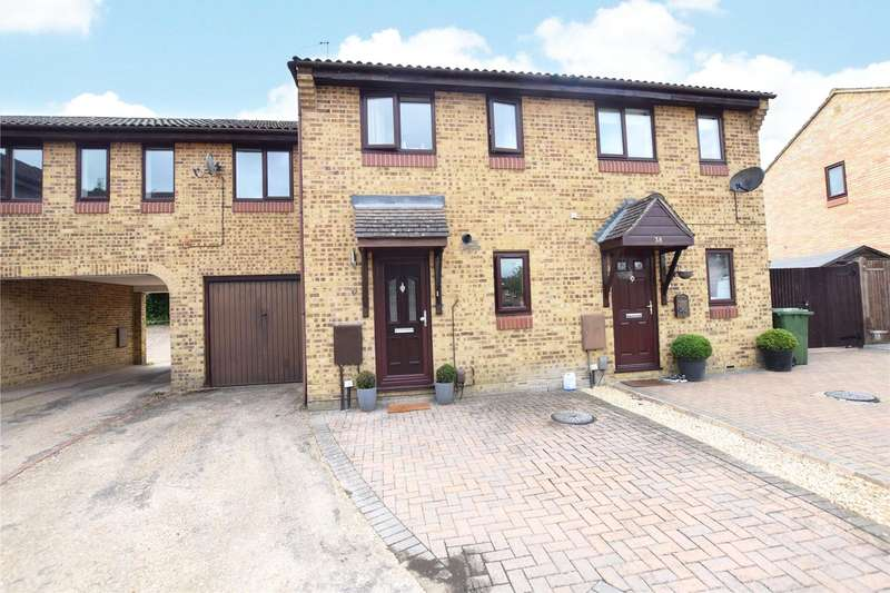 2 Bedrooms Terraced House for sale in Burnmoor Chase, Forest Park, Bracknell, Berkshire, RG12