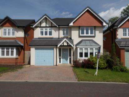 4 Bedrooms Detached House for sale in Raleigh Close, Newton-Le-Willows, Merseyside