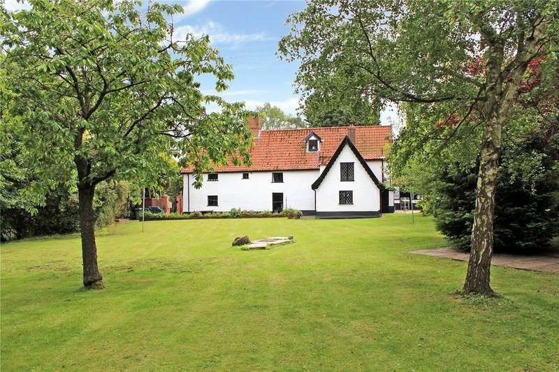 5 Bedrooms Detached House for sale in The Street, Tibenham, Norwich, Norfolk, NR16