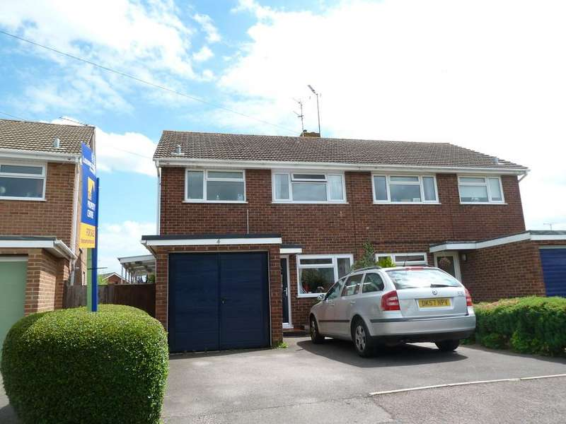 3 Bedrooms Semi Detached House for sale in Kimberley Close, Longlevens, Gloucester, GL2