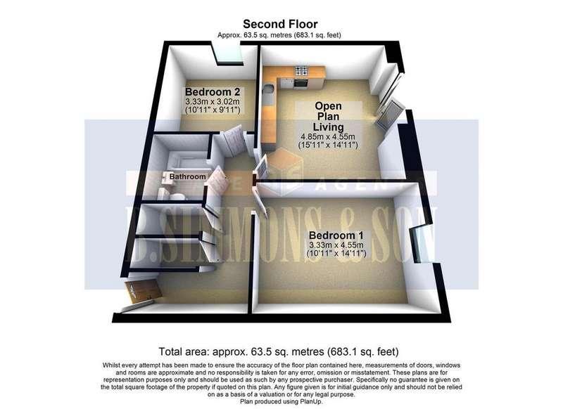 2 Bedrooms Flat for sale in Fieldview Court, Farnham Road, Slough