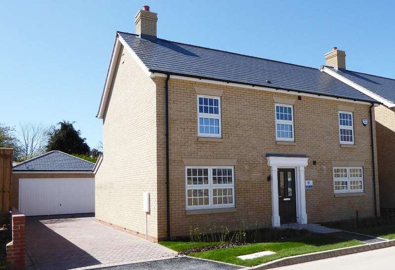 4 Bedrooms Detached House for sale in Plot 244 The Chrysolite, Langton Rise, Off Langton Hill, Horncastle