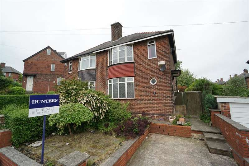 3 Bedrooms Semi Detached House for sale in Lees Hall Road , Norton Lees, Sheffield , S8 9JJ