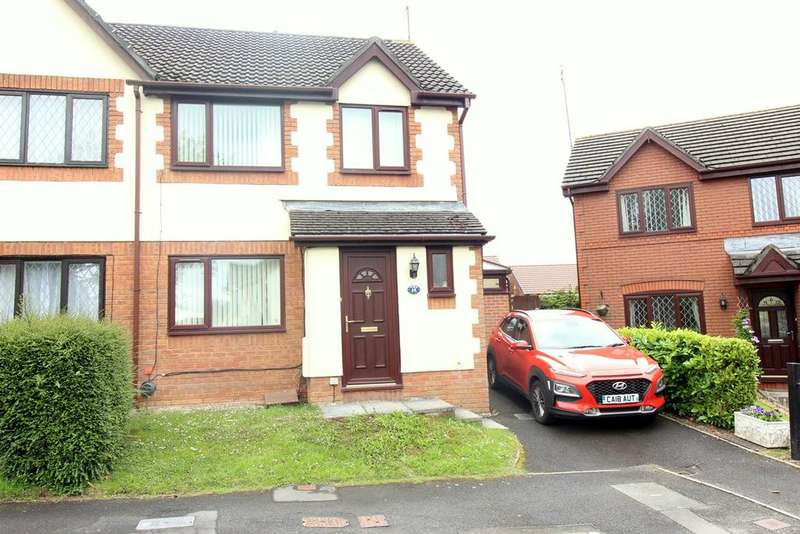 3 Bedrooms Semi Detached House for sale in Blossom Close, Langstone, Newport, NP18