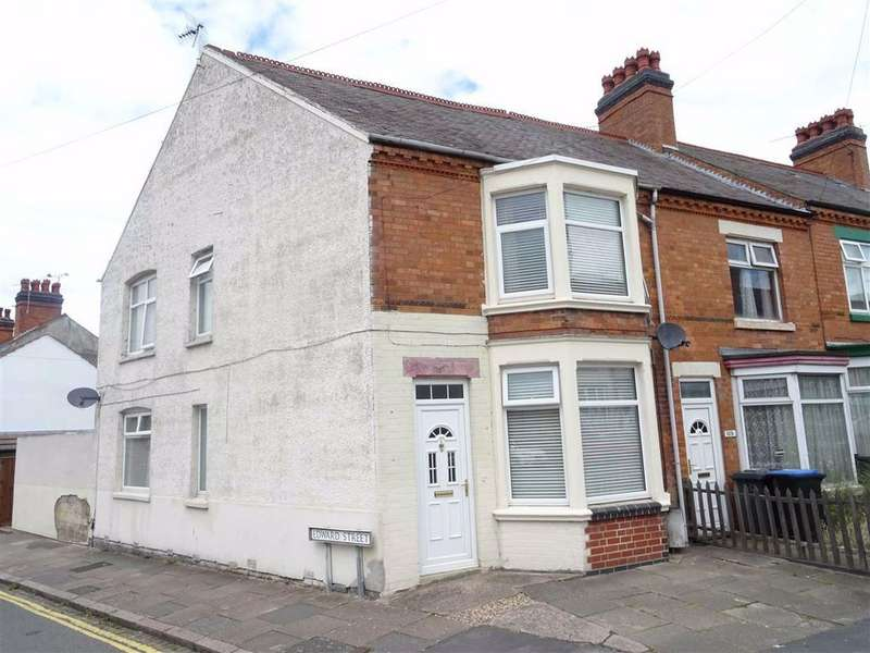 3 Bedrooms Terraced House for sale in Factory Road, Hinckley