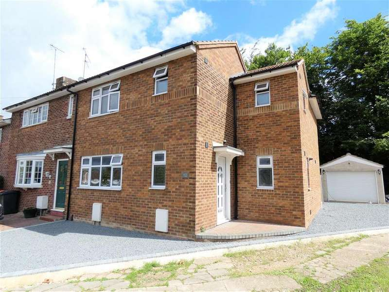 3 Bedrooms End Of Terrace House for sale in Bernard Close, Dunstable