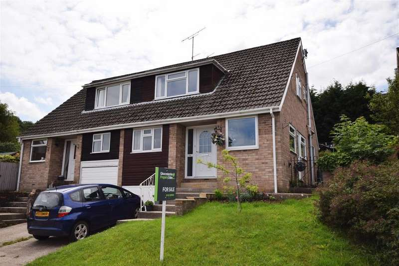 3 Bedrooms Semi Detached House for sale in Arundel Drive, Rodborough, Stroud