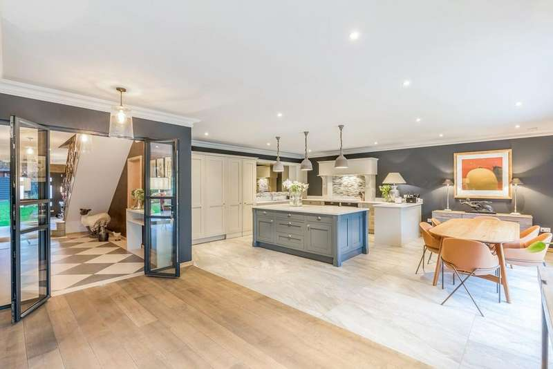 6 Bedrooms Detached House for sale in Tongdean Lane, Withdean, Brighton, BN1