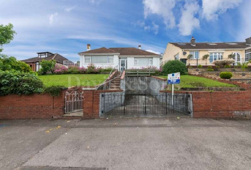 2 Bedrooms Detached Bungalow for sale in Chepstow Road, Newport, Gwent. NP19 9BJ
