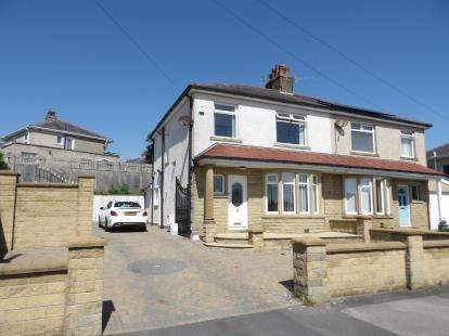 3 Bedrooms Semi Detached House for sale in Fairfield Road, Heysham, Morecambe, Lancashire, LA3