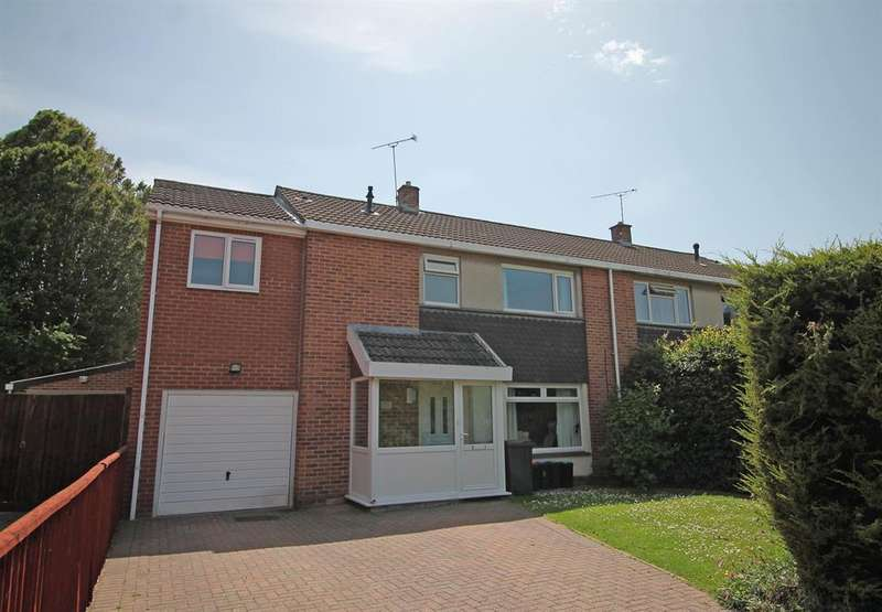 4 Bedrooms Semi Detached House for sale in Wareham Close, Nailsea, North Somerset, BS48 2HX