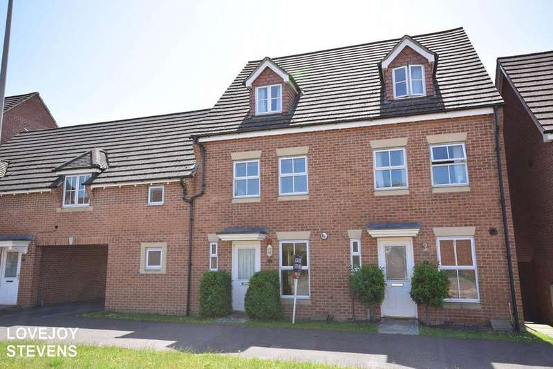 3 Bedrooms Town House for sale in Urquhart Road, Thatcham RG19