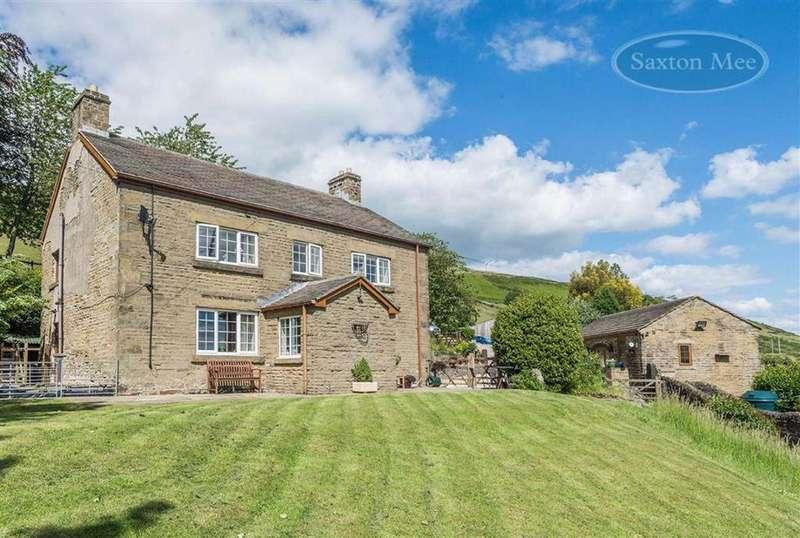 4 Bedrooms Detached House for sale in Hunshelf Bank, Stocksbridge, Sheffield, S36