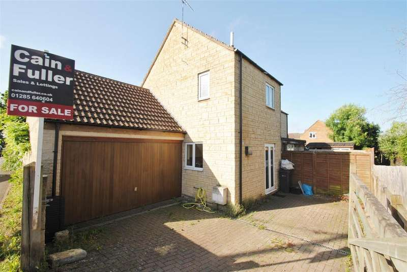 2 Bedrooms End Of Terrace House for sale in Beverstone Close, South Cerney, Cirencester