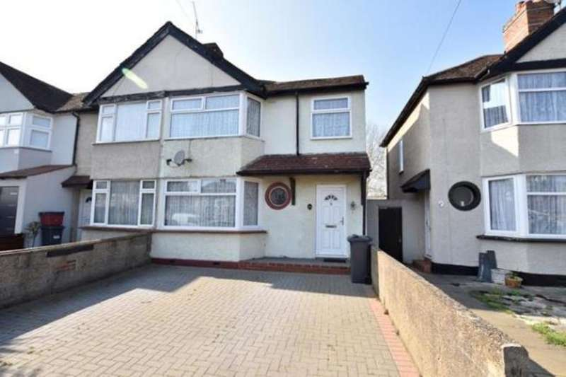 3 Bedrooms End Of Terrace House for sale in Hounslow Road, Hanworth, TW13