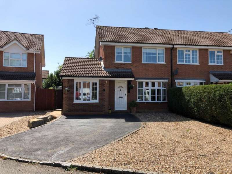 3 Bedrooms Semi Detached House for sale in Concorde Way, Woodley, Reading, RG5
