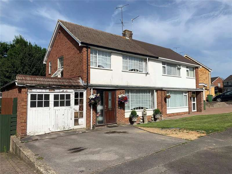 4 Bedrooms Semi Detached House for sale in Foxcombe Drive, Tilehurst, Reading, Berkshire, RG31