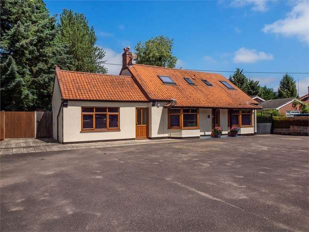 4 Bedrooms Detached House for sale in Norwich Road, Lenwade, Norwich, Norfolk