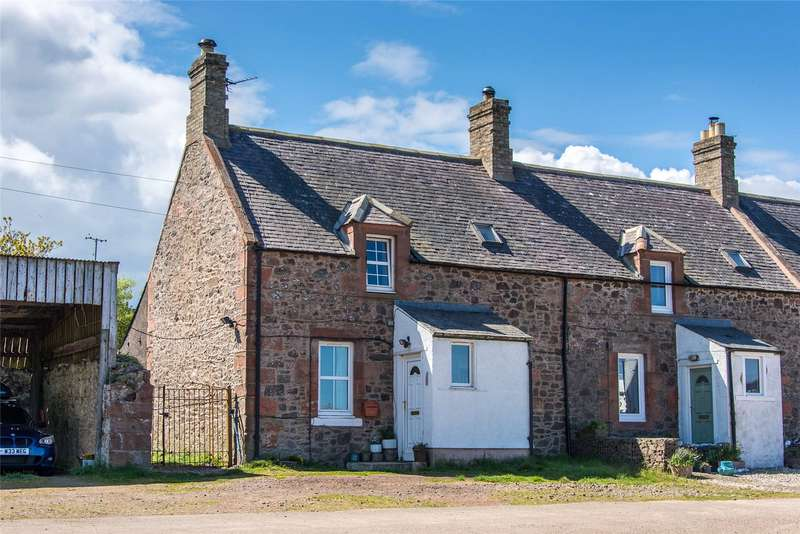 2 Bedrooms End Of Terrace House for sale in 1 Townhead Cottages, Cockburnspath, Scottish Borders, TD13