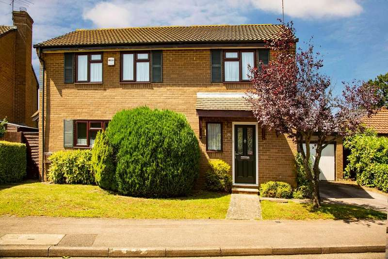 4 Bedrooms Detached House for sale in Tamarind Way, Earley, Reading, RG6 5GR