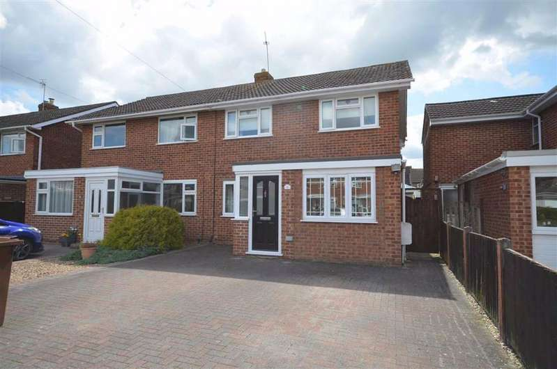 3 Bedrooms Semi Detached House for sale in Warren Close, Churchdown