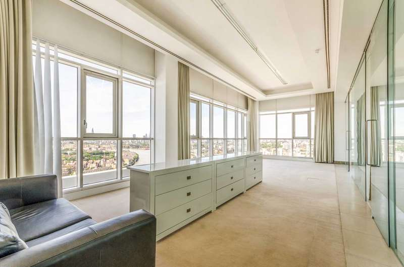 4 Bedrooms Flat for rent in Berkley Tower, Canary Wharf, E14