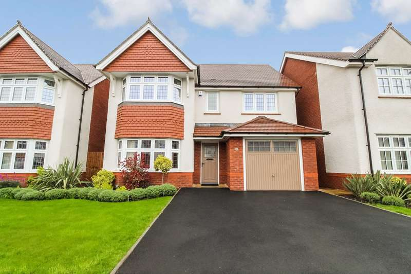 4 Bedrooms Detached House for sale in Capel Dewi Hall Road, Newport, NP20