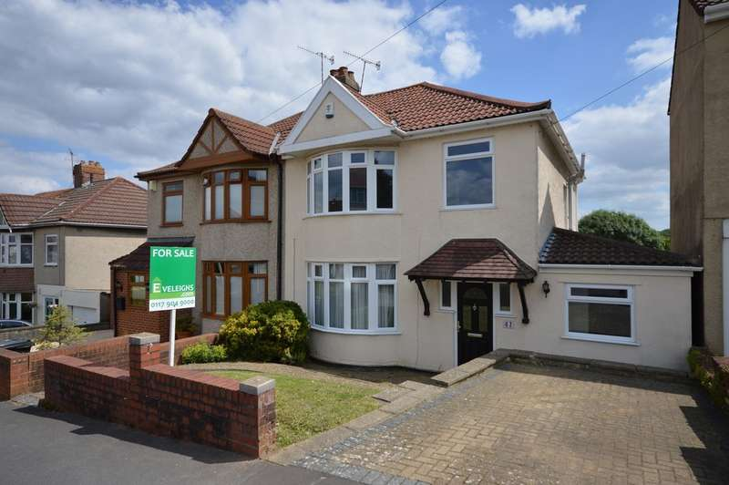 3 Bedrooms Semi Detached House for sale in Hazelbury Road, Whitchurch, BS14