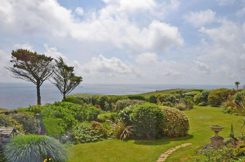 4 Bedrooms Detached House for sale in St Levan, Porthcurno, Nr. Penzance, Cornwall