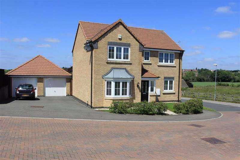 4 Bedrooms Detached House for sale in Stanage Road, Sileby, Leicestershire