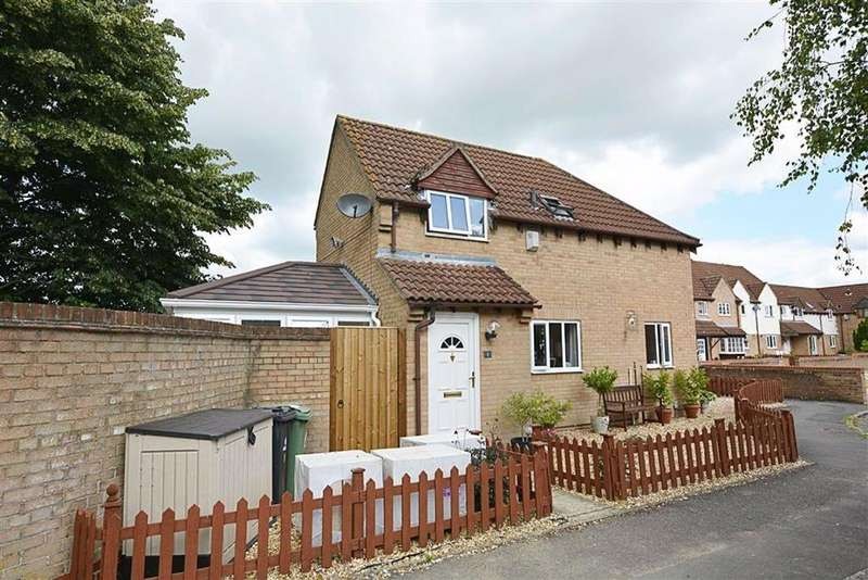 2 Bedrooms Semi Detached House for sale in Tirley Close, Quedgeley