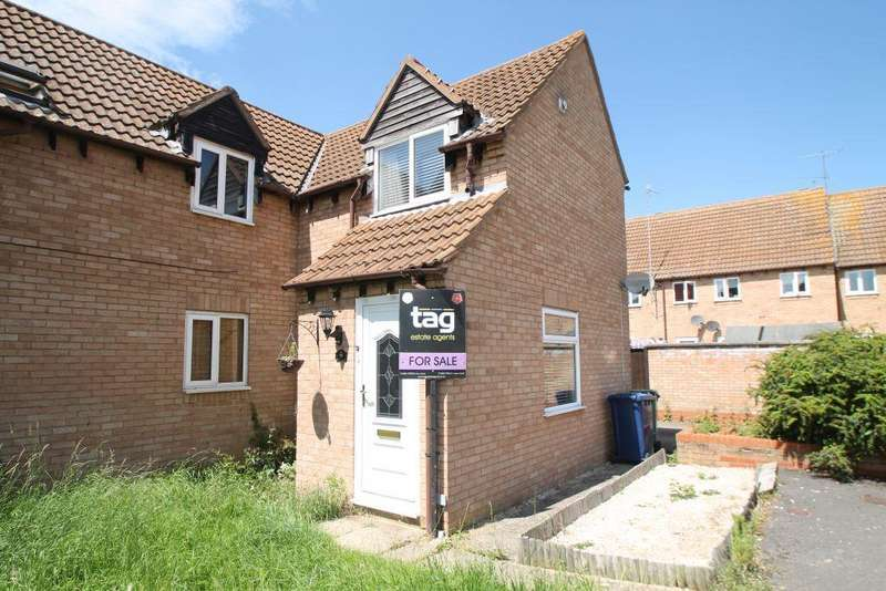 2 Bedrooms End Of Terrace House for sale in Grange Court, Northway, Tewkesbury