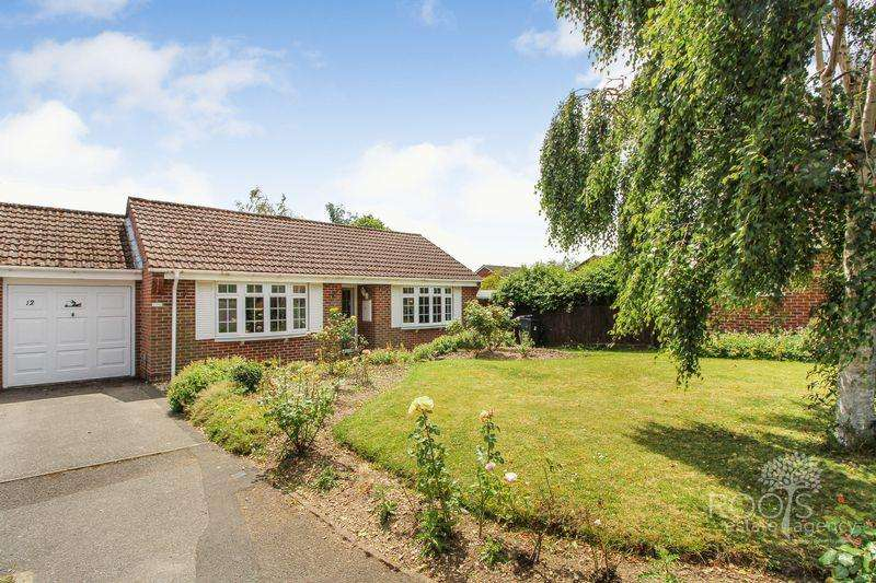 2 Bedrooms Detached Bungalow for sale in Malham Road, Thatcham