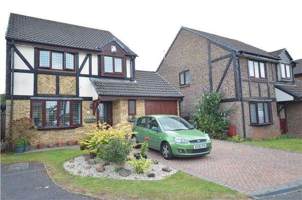 4 Bedrooms Detached House for sale in Hampden Close, Yate, BRISTOL, BS37 5UW