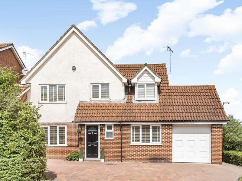 4 Bedrooms Detached House for sale in Notton Way, Lower Earley, Reading, RG6