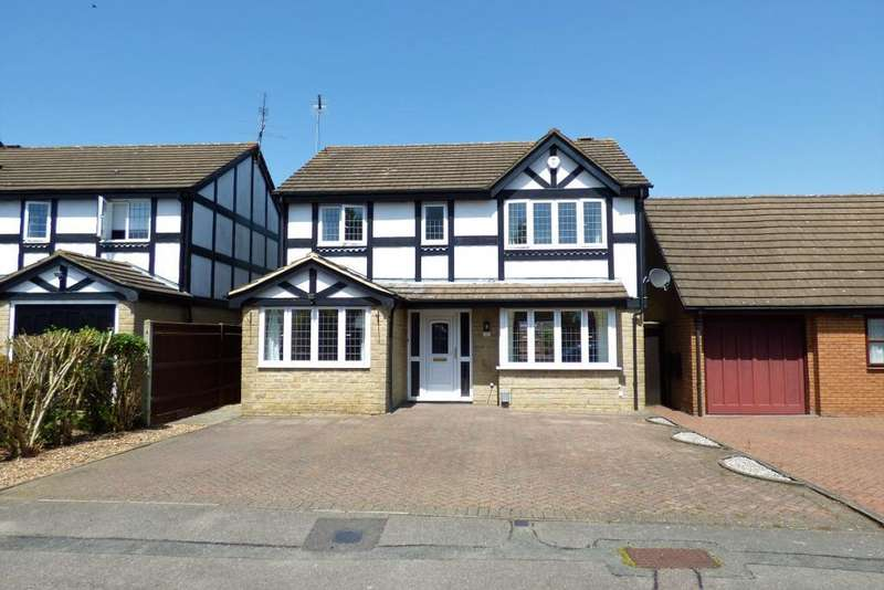 4 Bedrooms Detached House for rent in Burford Close, Barton Hills, Luton, Bedfordshire, LU3 4DS