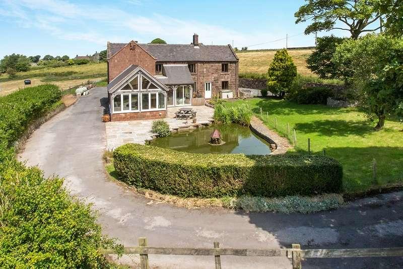 5 Bedrooms Detached House for sale in Rudyard Road, Biddulph Moor, Stoke-On-Trent, ST8