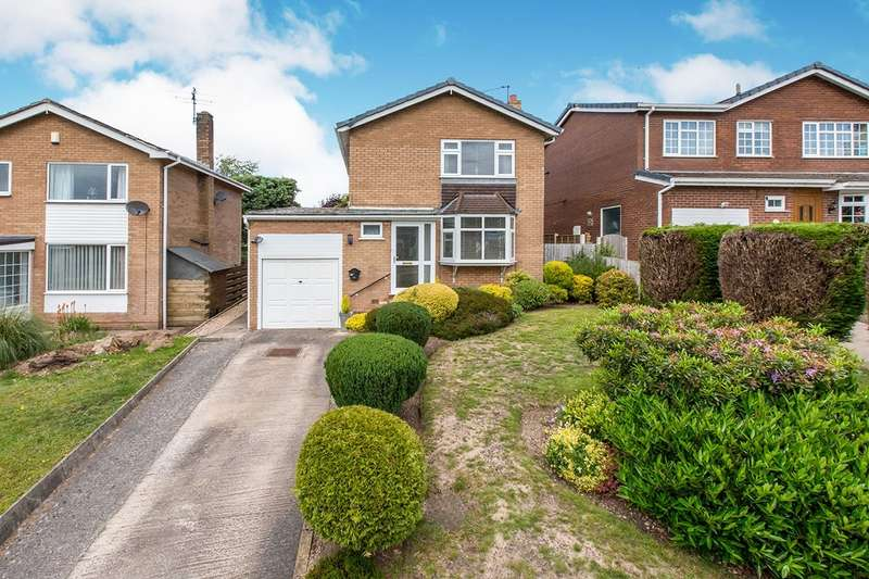 3 Bedrooms Detached House for sale in Harvey Road, Congleton, Cheshire, CW12