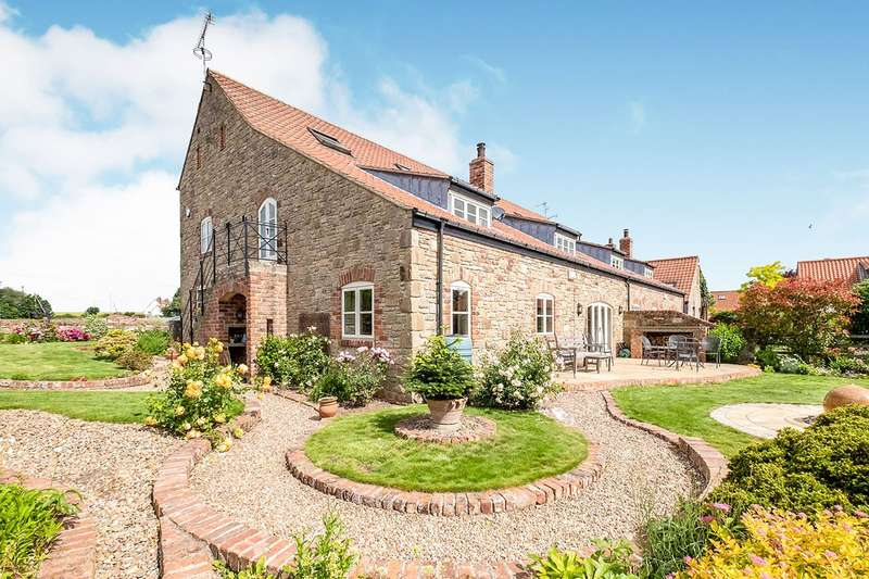 5 Bedrooms Semi Detached House for sale in Castle Farm Ladyfield Road, Thorpe Salvin, Worksop, Nottinghamshire, S80