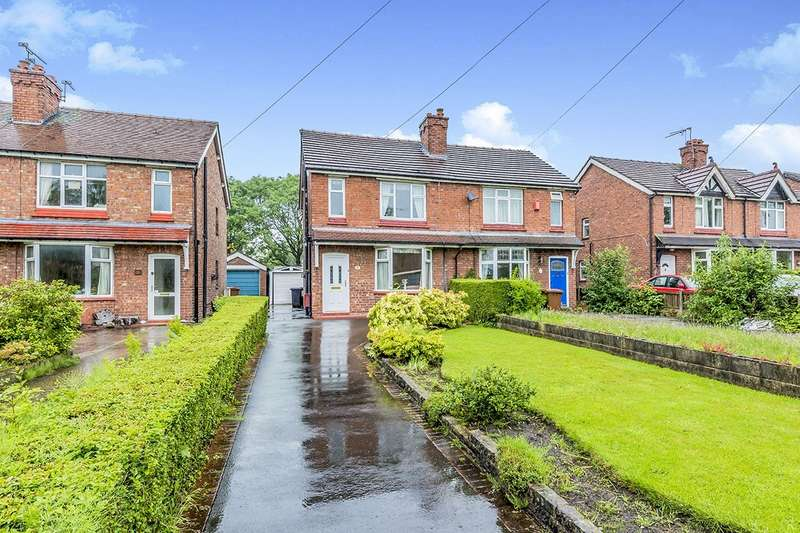 3 Bedrooms Semi Detached House for sale in Macclesfield Road, Holmes Chapel, Crewe, CW4